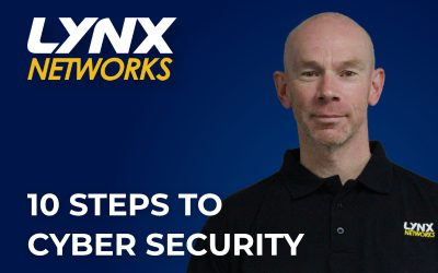 10 Steps to Cyber Security [video]