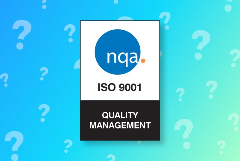 What has ISO9001 ever done for us?